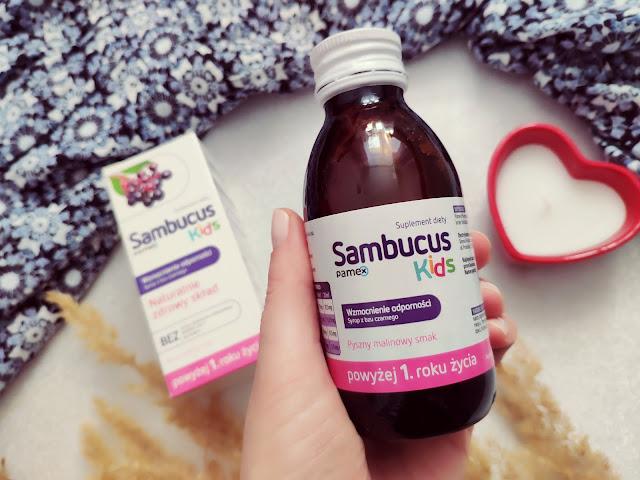 Sambucus Kids - Wzmocnienie odporności w sezonie grypowym