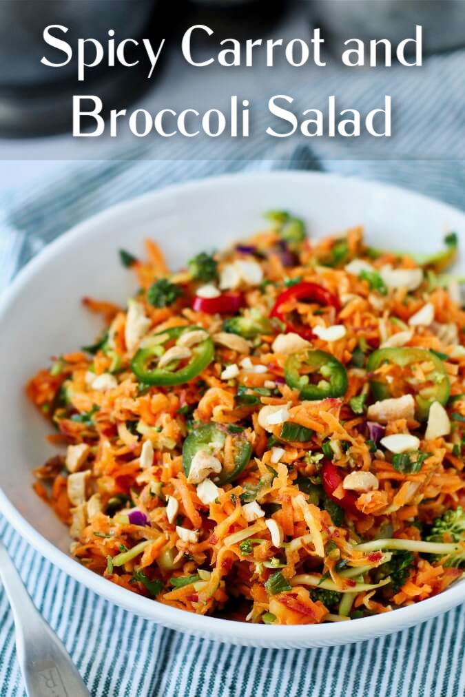 Carrot Cashew Salad