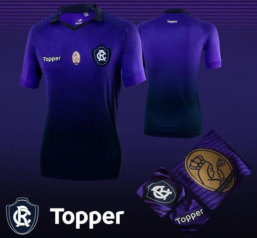 be9946a3b Topper lança a nova terceira camisa do Clube do Remo - Show de Camisas
