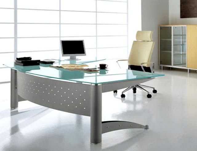 best glass modern office furniture pinterest design pictures