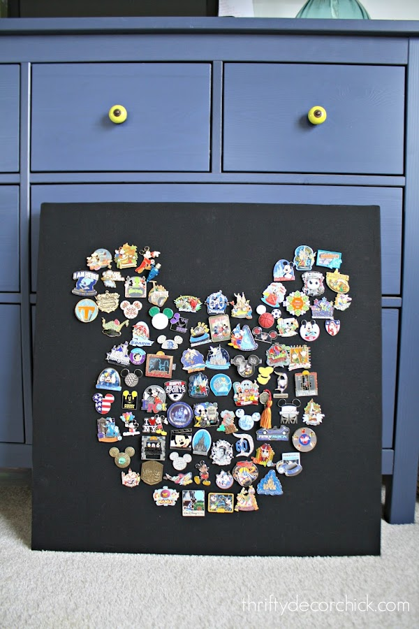 Mickey Mouse Disney pin art