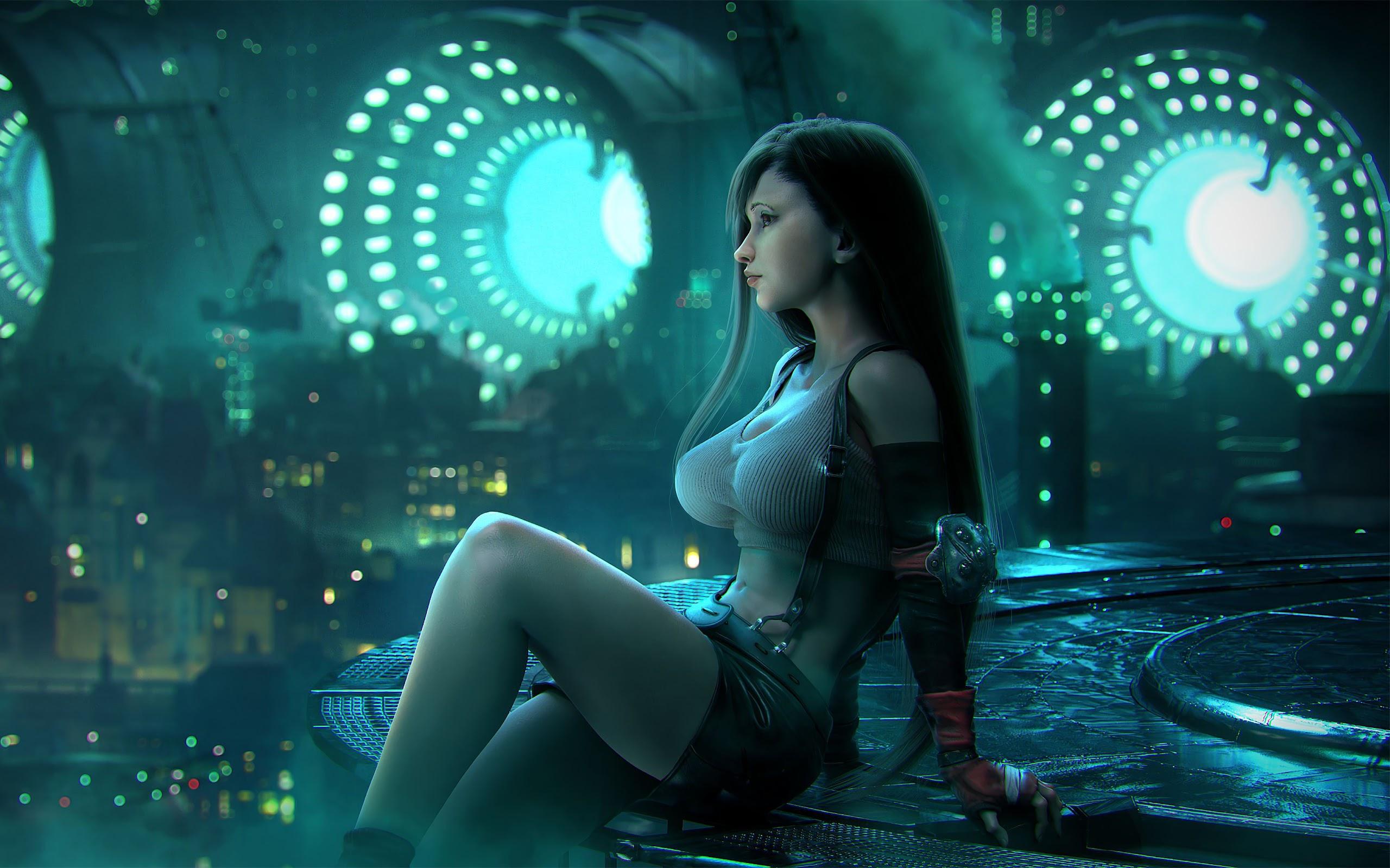 2932x2932 Tifa Lockhart Final Fantasy Artwork Ipad Pro: Tifa Lockhart, Final Fantasy 7 Remake, 4K, #6 Wallpaper