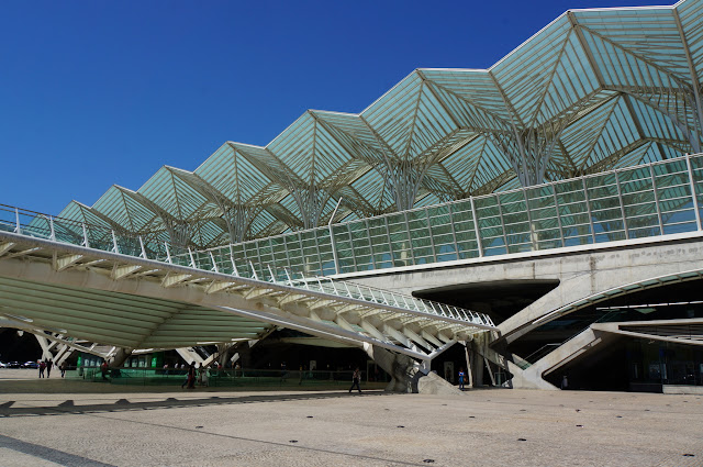 Gare Oriente-Lisbonne-Portugal