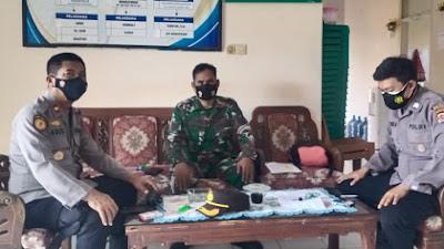 Program Pendekar Banten, Polsek Cipocok Jaya Laksanakan Guyub TNI-POLRI