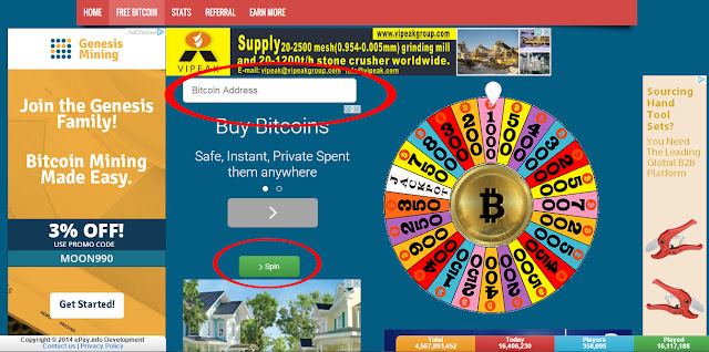 Goldsday bitcoin faucet, earn free bitcoins every 10 minutes