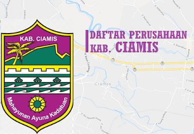 alamat perusahaan PT besar di Ciamis lengkap