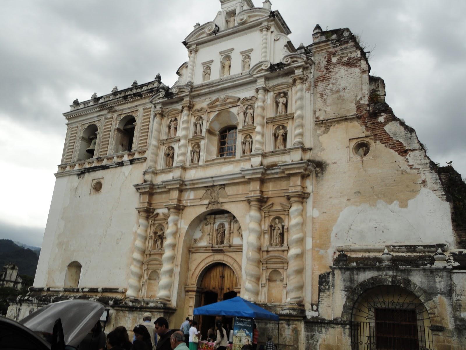 Guatemisterios La Antigua Iglesia De San Francisco El Grande