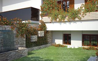 Giardino a Bagno di Romagna-rendering