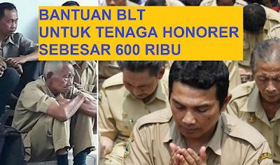 Cek Syarat Penerima BLT 600 ribu untuk tenaga honorer, Bantuan untuk Tenaga Honorer sebesar ratusan ribu setiap bulannya.