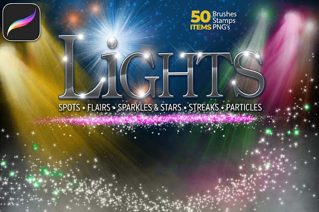 50 Lights Brush Set