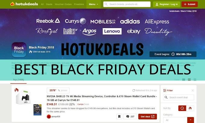 Hotukdeals - Το απόλυτο site να μην χάσεις καμία προσφορά της Black Friday