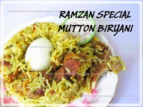 Mutton Biryaniwithout Tomato& Coconut Milk