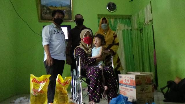 Disabilitas Sejak Lahir, Bocah 6 Tahun asal Hamparan Perak dapat Perhatian Kabaharkam Polri