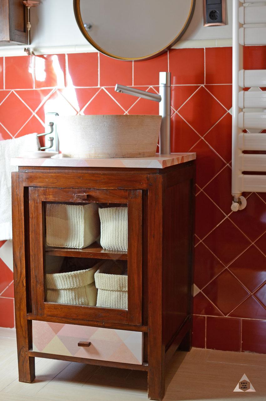 reforma mueble baño con vinilo adhesivo decoconsailo.com