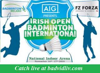 Irish Open 2018 live streaming