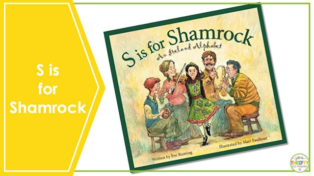 Are you looking for St. Patrick's Day Books you can share with your upper elementary students? S is for Shamrock is a perfect book to share with your 4th and 5th graders.