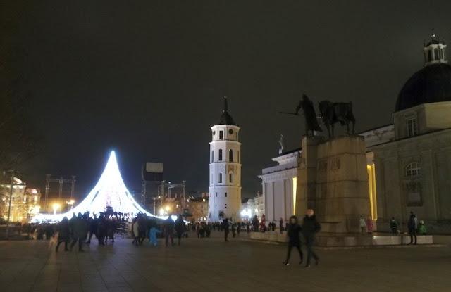 Weihnachtsmarkt in Vilnius, Litauen