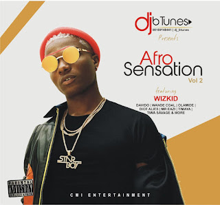 [Mixtape] DJ b'TUNES – Afro Sensation Vol 2