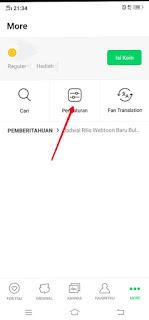 Indonesian and Korean webtoons