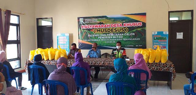 Fakultas MIPA UNSOED Salurkan Bantuan Terdampak Covid-19 Di Bobotsari
