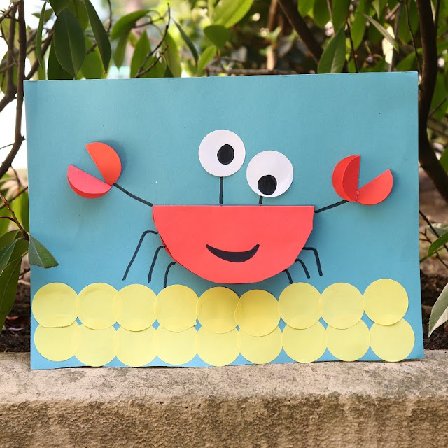 activite crabe maternelle