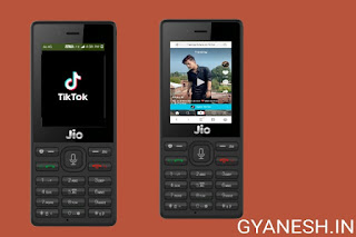 How to play tiktok using jio phone