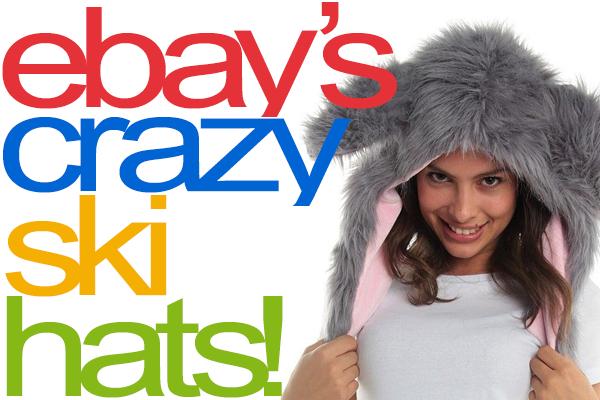 The 12 Best eBay CRAZY SKI HATS!  2612c8e5ee4