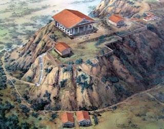 reconstrucao colina capitolio roma - A acrópole de Roma: Capitólio