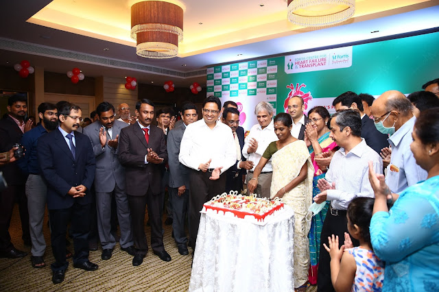 Fortis Malar Hospital successfully conducts record 150th Heart Transplant; a first in South Asia Consistently Excellent outcomes with One year survival rate of over 90 %