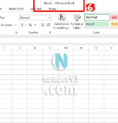 Microsoft Excel Bagi Pemula Book1 Excel Nandur93