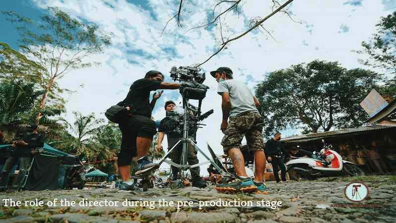 دور المخرج خلال مرحلة ما قبل الإنتاج