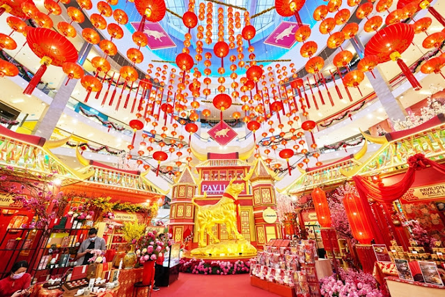 Biggest Golden Bull in Malaysia, Chinese New Year, Year of Bull, Whirls of Happiness, Da Men USJ, Intermark Mall, Ox-spicious Blossoms, Lifestyle