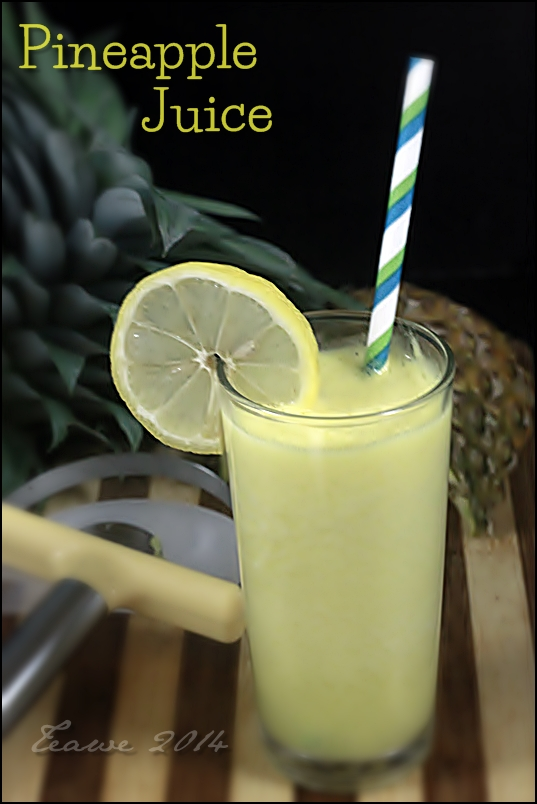 Manfaat Juice Nanas
