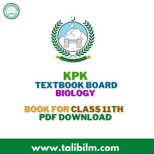KPK Textbook Board Biology book 2021Class 11th