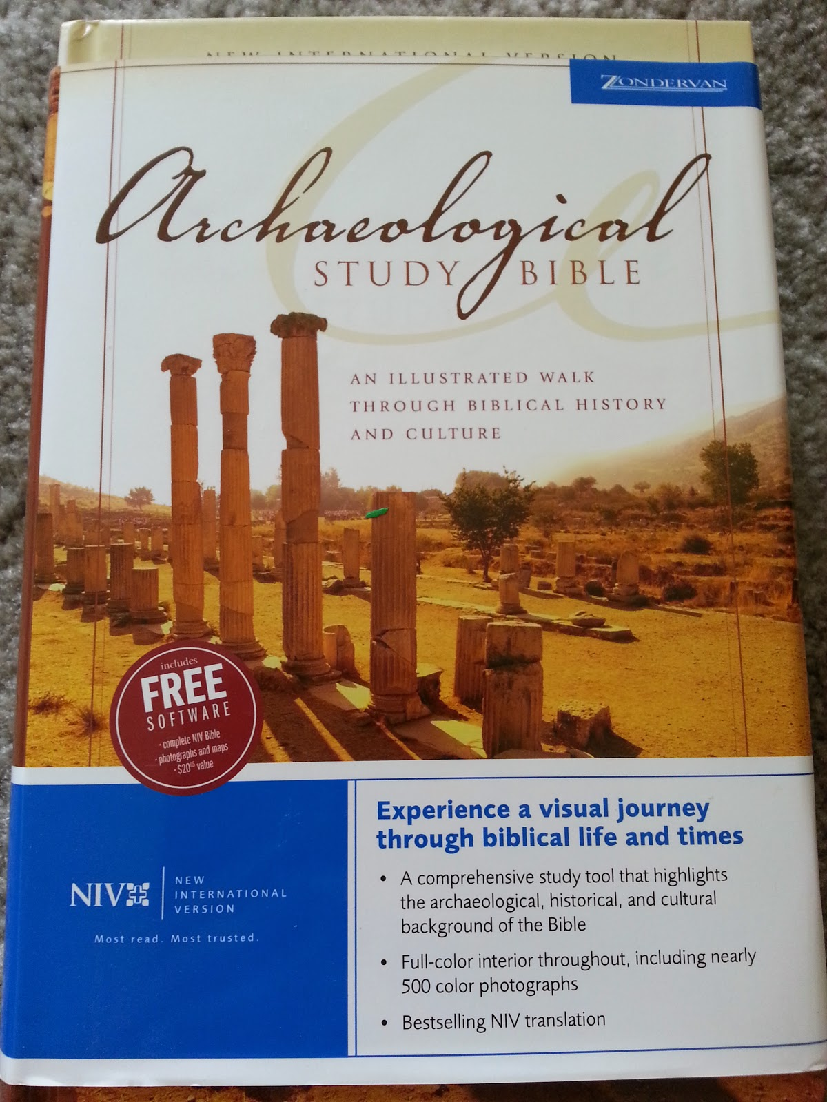 Freebie Friday: Archaeological Study Bible