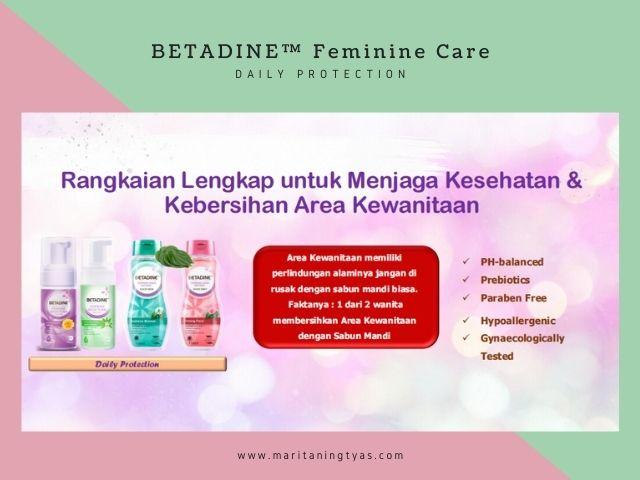 betadine feminine care daily use