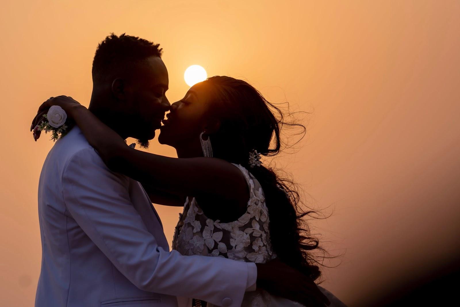 Simi And Adekunle Gold Tongue Kiss In New Anniversary