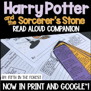 Thumbnail for read aloud companion for Harry Potter and the Sorcerer's Stone by Fifth in the Forest on Teachers Pay Teachers
