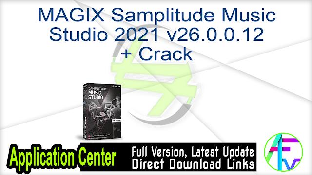 MAGIX Samplitude Music Studio 2021 v26.0.0.12 + Crack