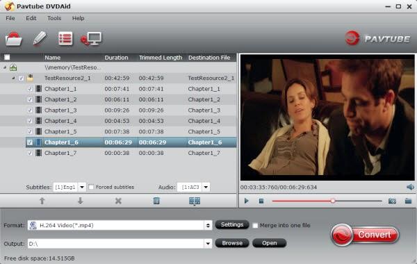 DVD to Vimeo converter