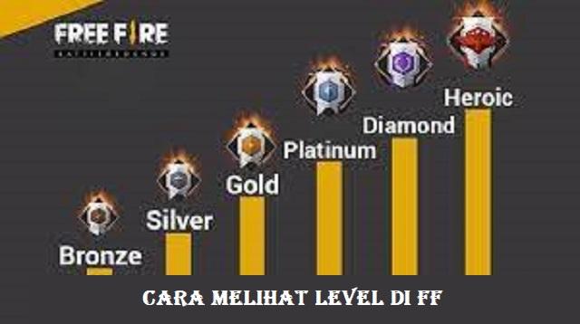 Cara Melihat Level di FF