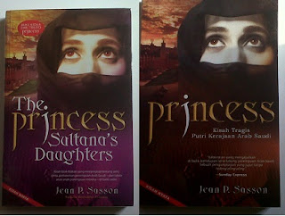 Novel The Princess Sultana's Daughter by Jean P. Sasson