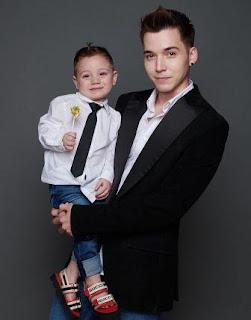 foto stefan william dan anaknya
