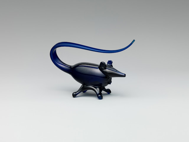CAP News: Persian blue glass mouse