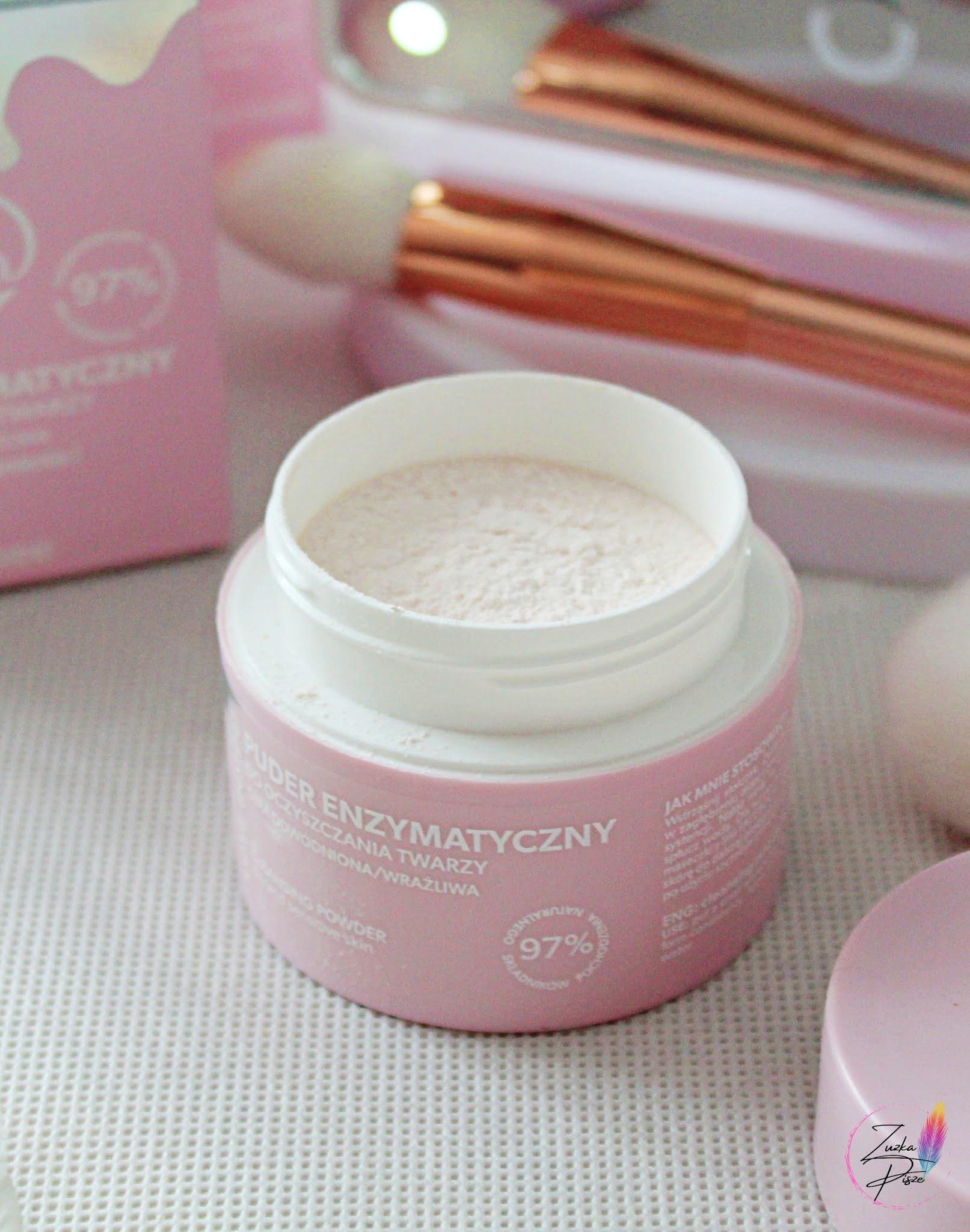 BodyBoom FaceBoom delikatny puder enzymatyczny do oczyszczania twarzy