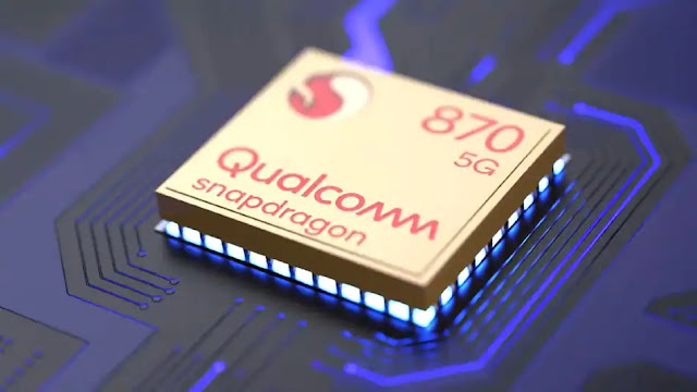 Smartphone With Snapdragon 870 SoC
