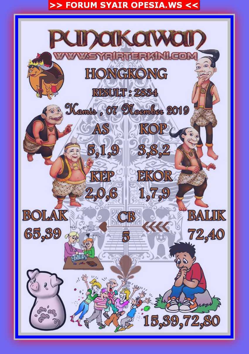 Kode syair Hongkong Kamis 7 November 2019 57
