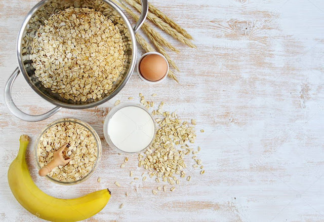 Curd, Oats, and Eggs face mask