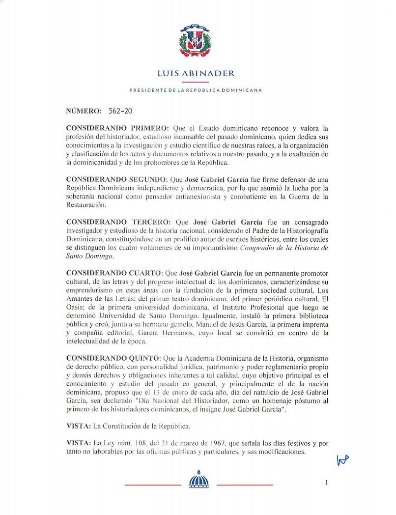 decreto 562-20