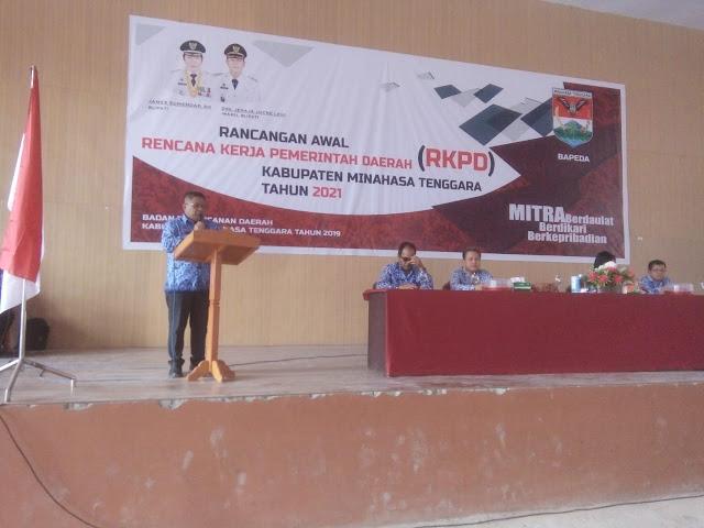 Pemkab Mitra Laksanakan Rancangan Awal RKPD Tahun 2021